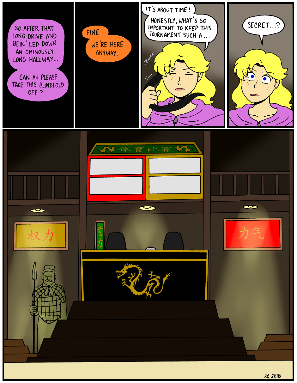 Coffee of Fury, Part 66 - Secret Place