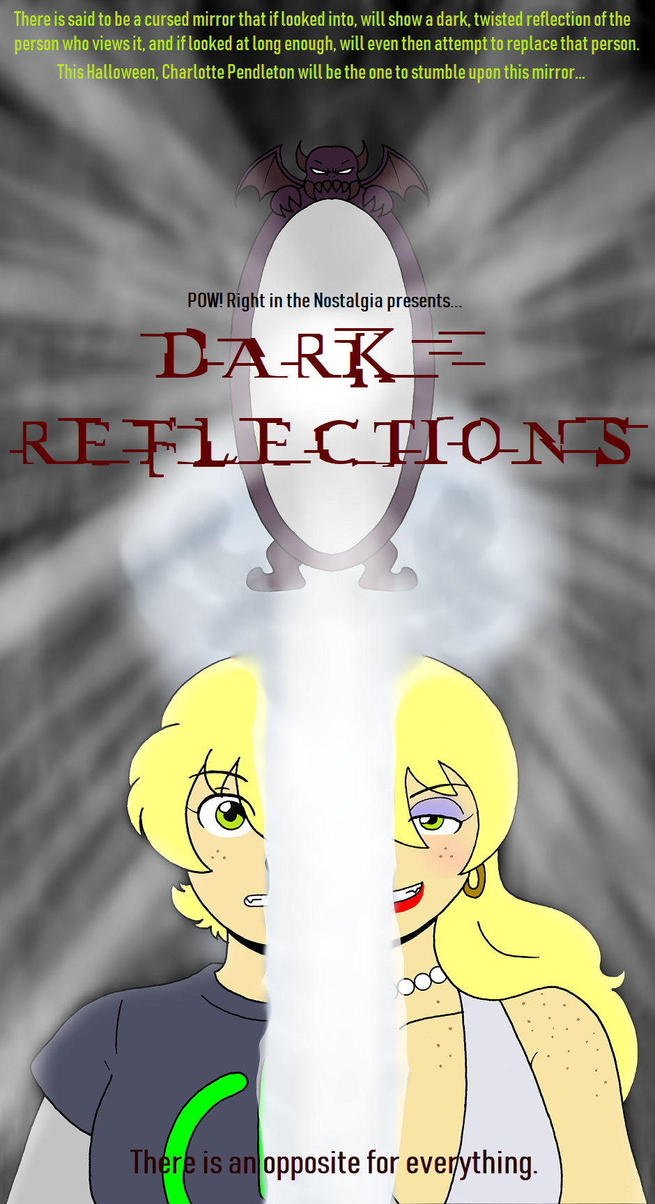 Dark Reflections, Cover